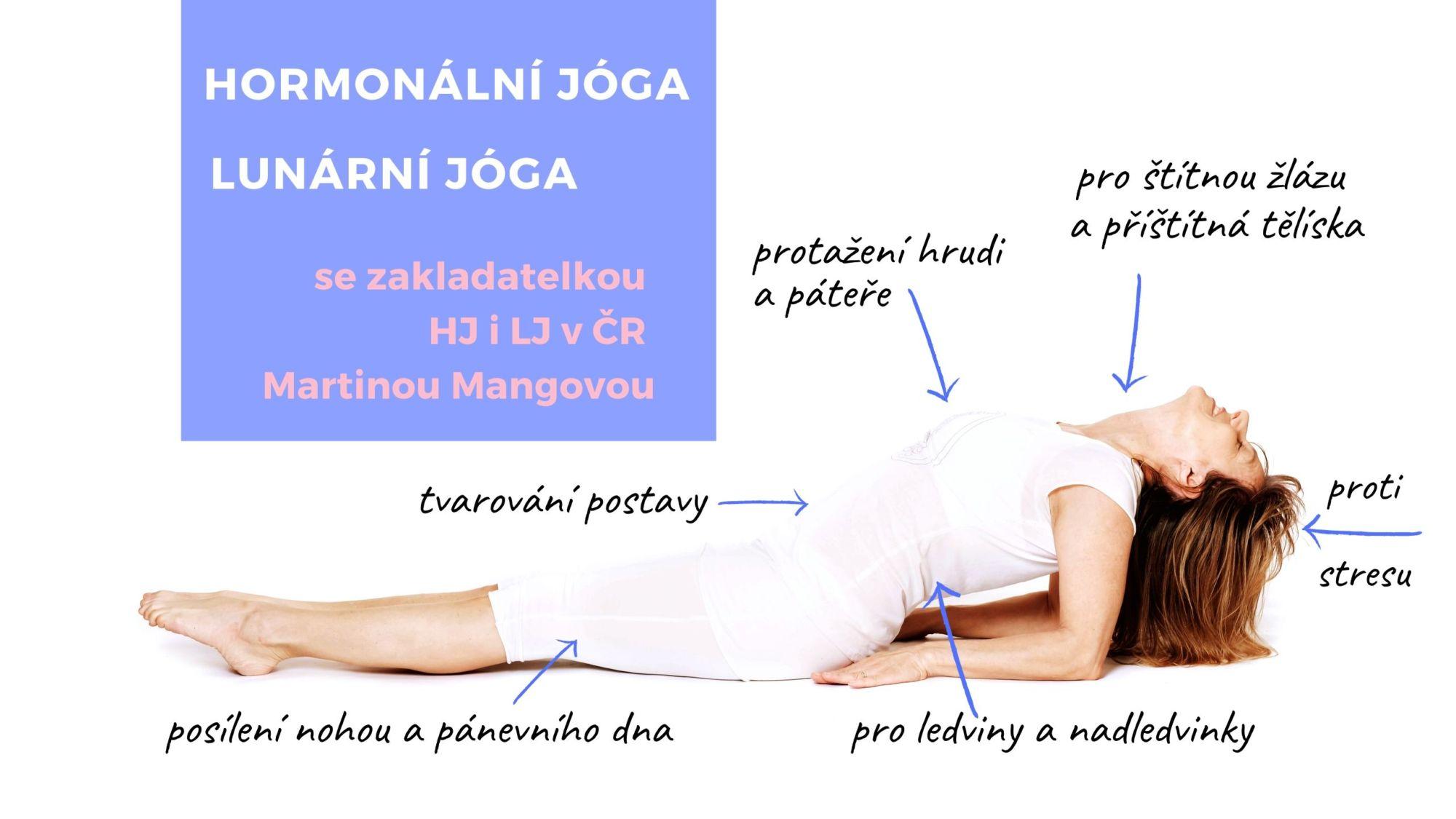 Vylaďte se Hormonální jógou Metoda Martiny Mangové