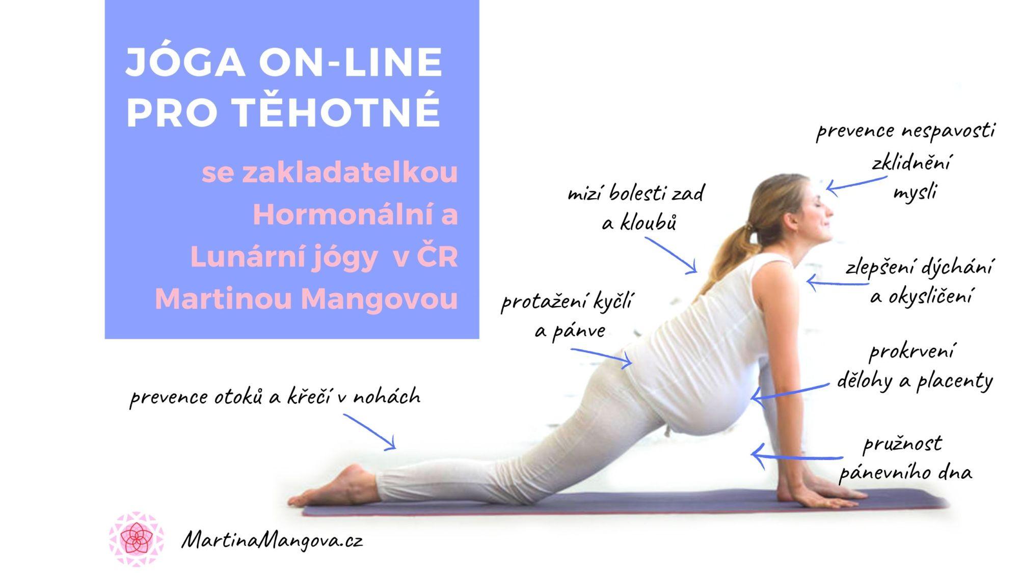 Jóga ON-LINE pro těhotné - měsíční členství_kopie